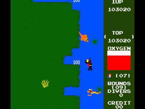 Arcade Game: Marine Boy (1982 Orca)
