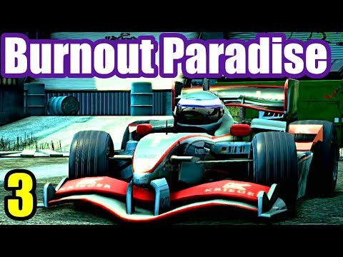 F1 Toy Car - Burnout Paradise Remastered - XBox One Gameplay #3