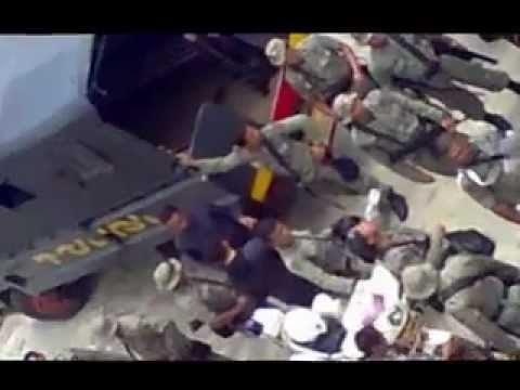 Police Expanding intimidation in Yapen Island Part 3