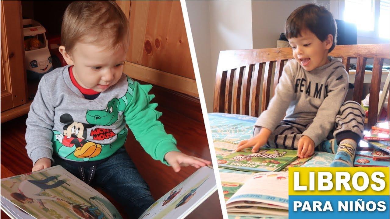 Libros para bebes y niños | Los libros de mis hijos #conmigo