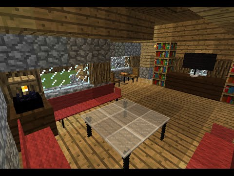 muebles con bloques de comandos tutorial minecraft youtube