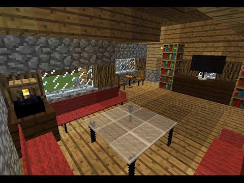Muebles Con Bloques De Comandos  Tutorial Minecraft  YouTube