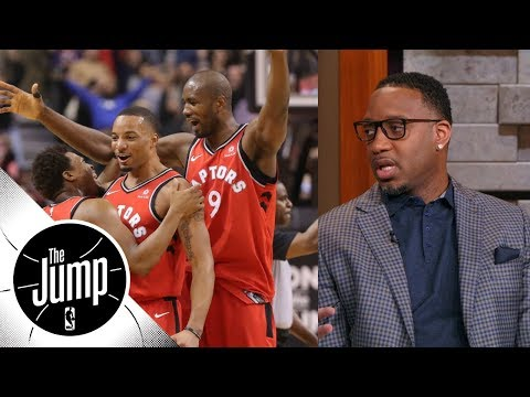 Tracy McGrady on Raptors: They need to secure No. 1 spot for playoffs | The Jump | ESPN