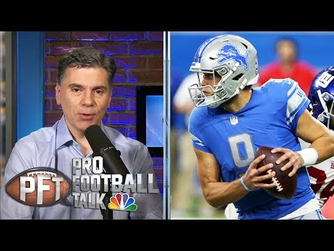 Is Matthew Stafford a dark horse in the MVP race? | Pro Football Talk | NBC Sports