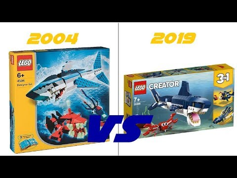 lego creator 2019 31088 deep sea creatures comparison. Black Bedroom Furniture Sets. Home Design Ideas