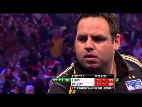 All The High Finishes - Day 6 - PDC World Darts Championship 2015