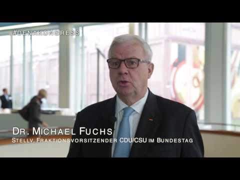 Dr. Michael Fuchs, CDU/CSU #denakongress