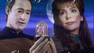 Data and Deanna Troi -The Phantom of The Opera (Techno Remix)