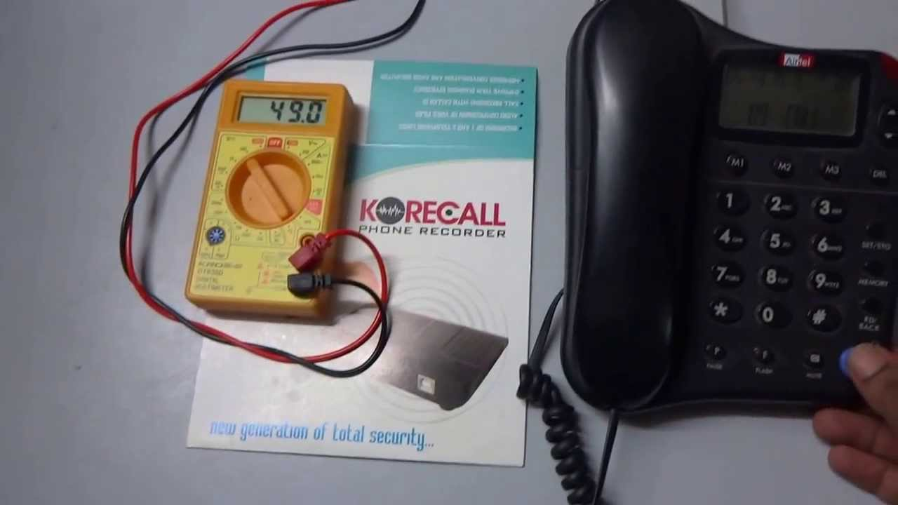 medium resolution of phone voltage wire