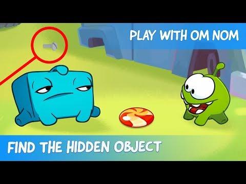 Find the Hidden Object - Om Nom Stories: Junkyard (Cut the Rope 2)