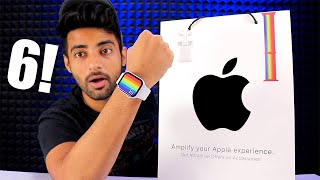 APPLE WATCH Series 6 44mm,GPS- Unboxing and First look India !!