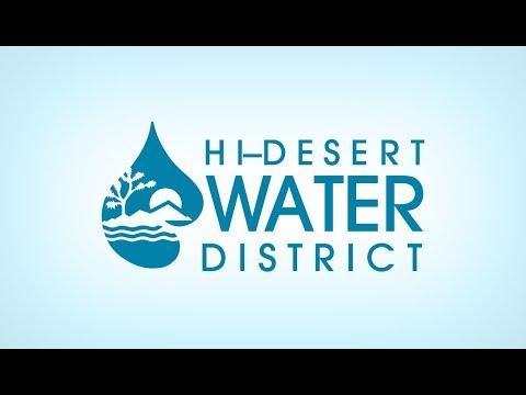 2017-11-08 Hi-Desert Water District Board Meeting