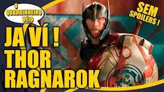 O melhor THOR ! Já ví Ragnarok - O Quadrinheiro Véio Nerd