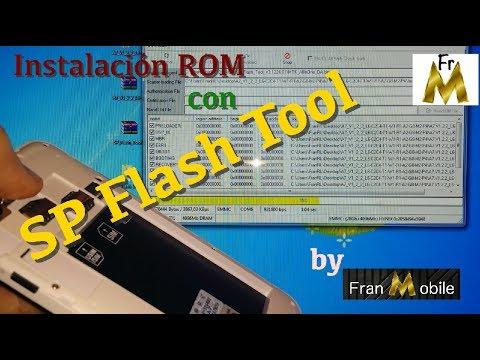 Instalación ROM con SP Flash Tool