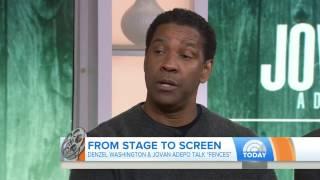 Denzel Washington Made Me Nervous, Admits 'Fences' Co-Star Jovan Adepo