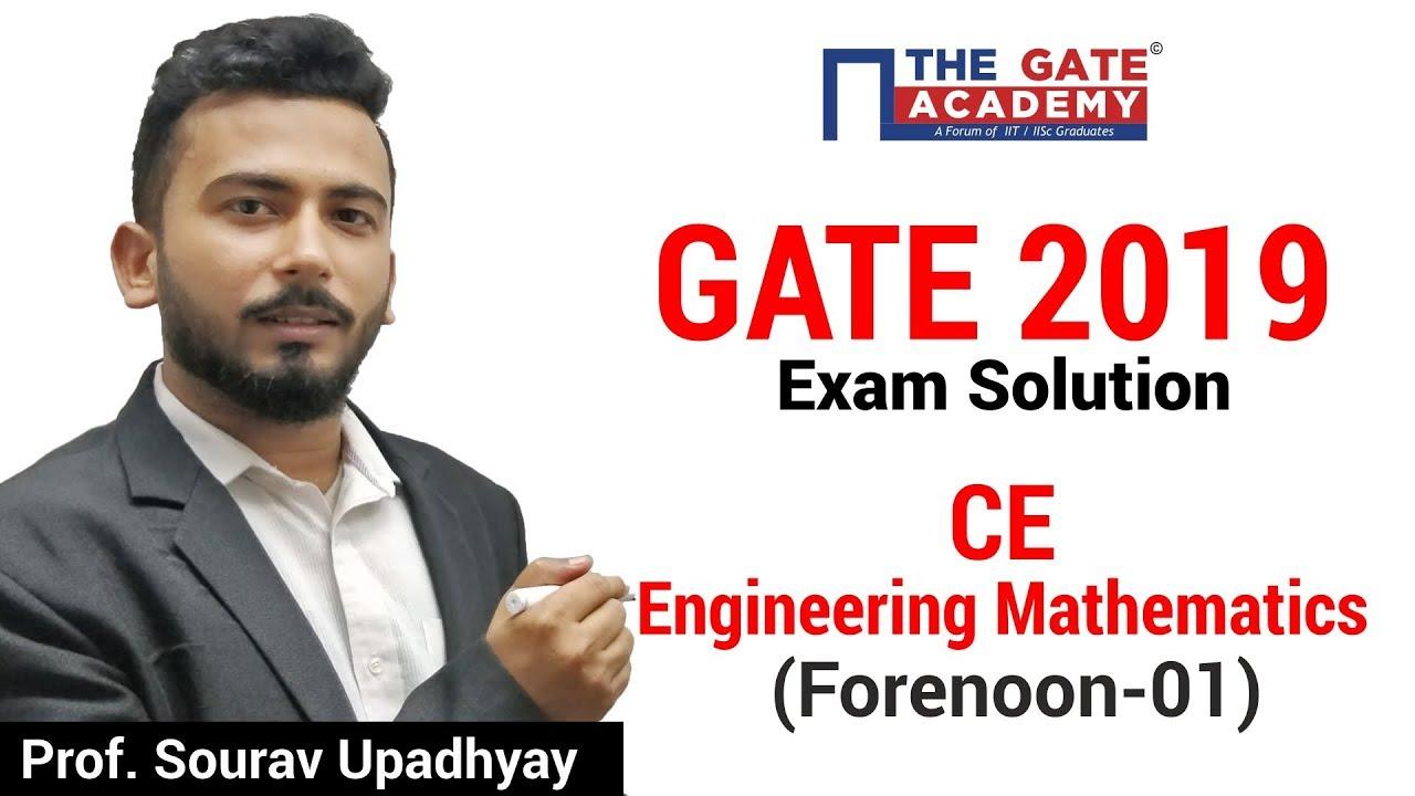 civil engineering gate 2019 answer key