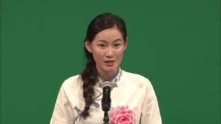 第57回 外国人による日本語弁論大会 『「大人っぽい」ってほめ言葉?』 リ イセン (李 祎璇)