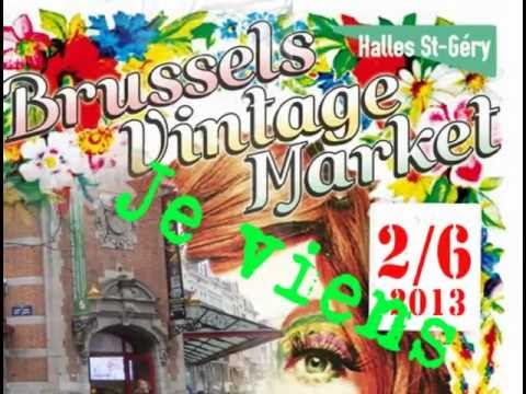 KI-MONO.ORG, à Brussels Vintage Market!! On se verra à Bruxelles!!