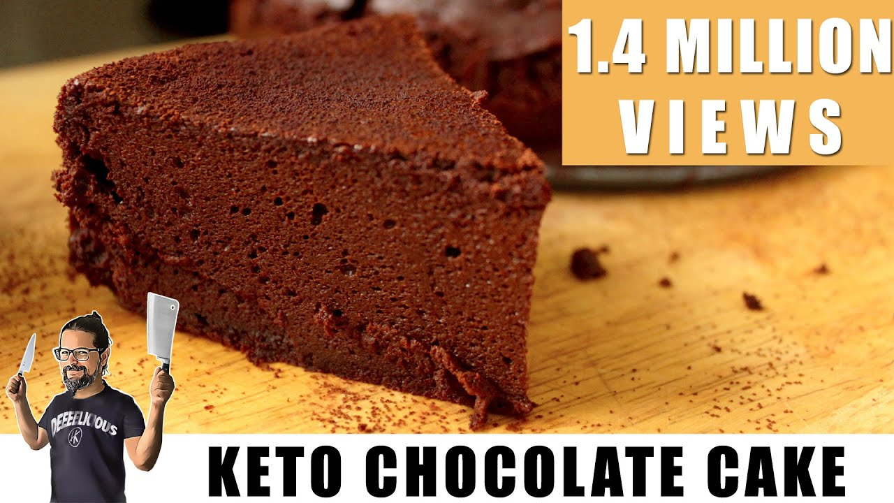 Flourless Chocolate Cake With Cocoa
