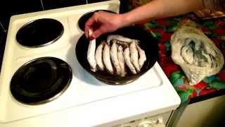 Мойва жареная - Рецепт блюда приготовленный на сковороде