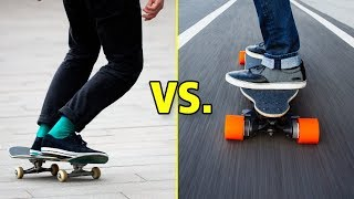 Skateboarding vs. Longboarding (Wins & Fails)