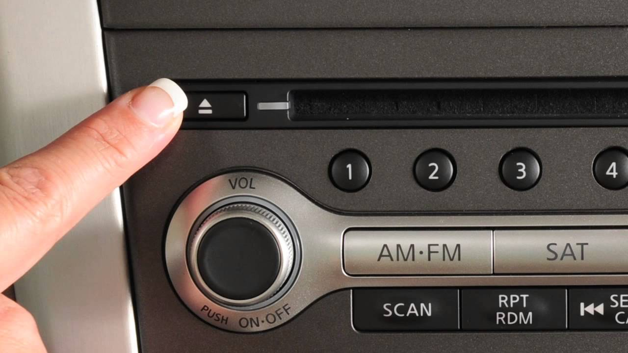 2013 Nissan Murano Audio System With Navigation Youtube