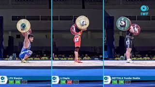 Clean & Jerk Lifts Comparison - Pattaya - Men - 81...
