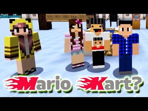 MARIO KART NO MINECRAFT?! - Mini game 1.9 - Ft. @SirGodenot e @CaliGamer87