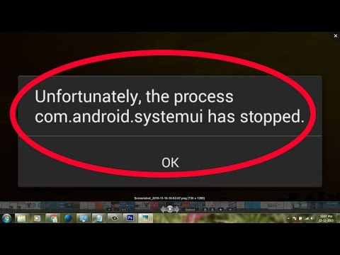 how to fix unfortunately the process com.android.systemui has stopped