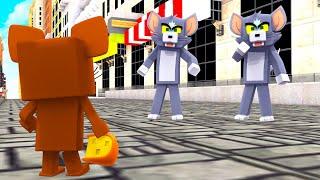 DOIS GATOS VS UM RATO! - TOM E JERRY RATTY CATTY (Minecraft)