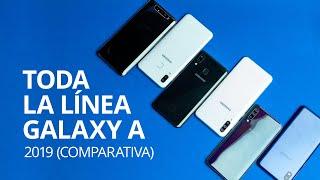 Comparativo GALAXY A 2019: A80, A70, A50, A30, A20 y A10