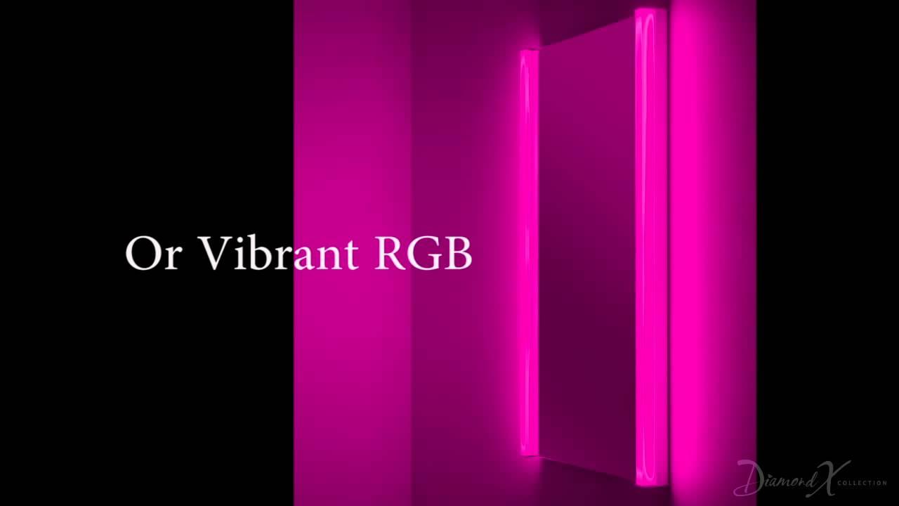 Bright Led Bathroom Lighting super bright led bathroom mirrors (aura range) - youtube