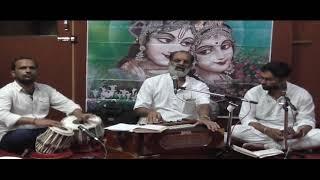 Charno ma mujh nein Rakho re o shreeji  Baba by Sunil Dutt chaturvedi from vrindavan