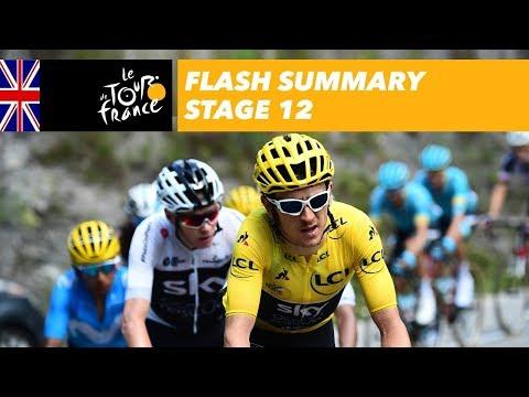 Flash Summary - Stage 12 - Tour de France 2018