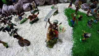 Солдатики игрушки играть с детьми игра как мультики лего роботы война про солдатиков Форт Техас 141