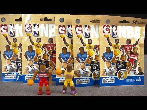 NBA Superstar Collection Blind Packs Series Two from The Bridge Direct