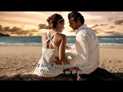 After All  Wedding Song  Peter Cetera And Cher With Lyrics