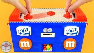LEGO Electronic AIR HOCKEY Table ft. M&M's