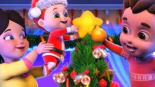 Christmas Songs Medley + More Winter Songs - Jugnu Kids