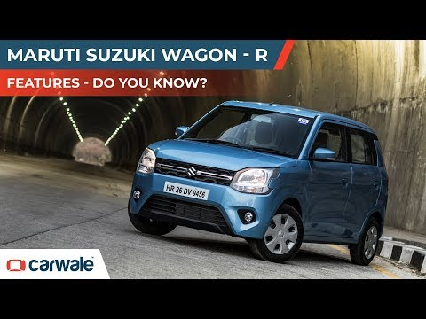 Maruti Suzuki Wagon R | Features | Do You Know? | 1 minute Review | CarWale