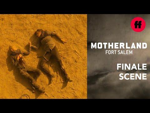 Motherland: Fort Salem Season 1 Finale   Abigail Links With Raelle   Freeform