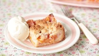 Peach-pie Crumble Bars - From The Test Kitchen