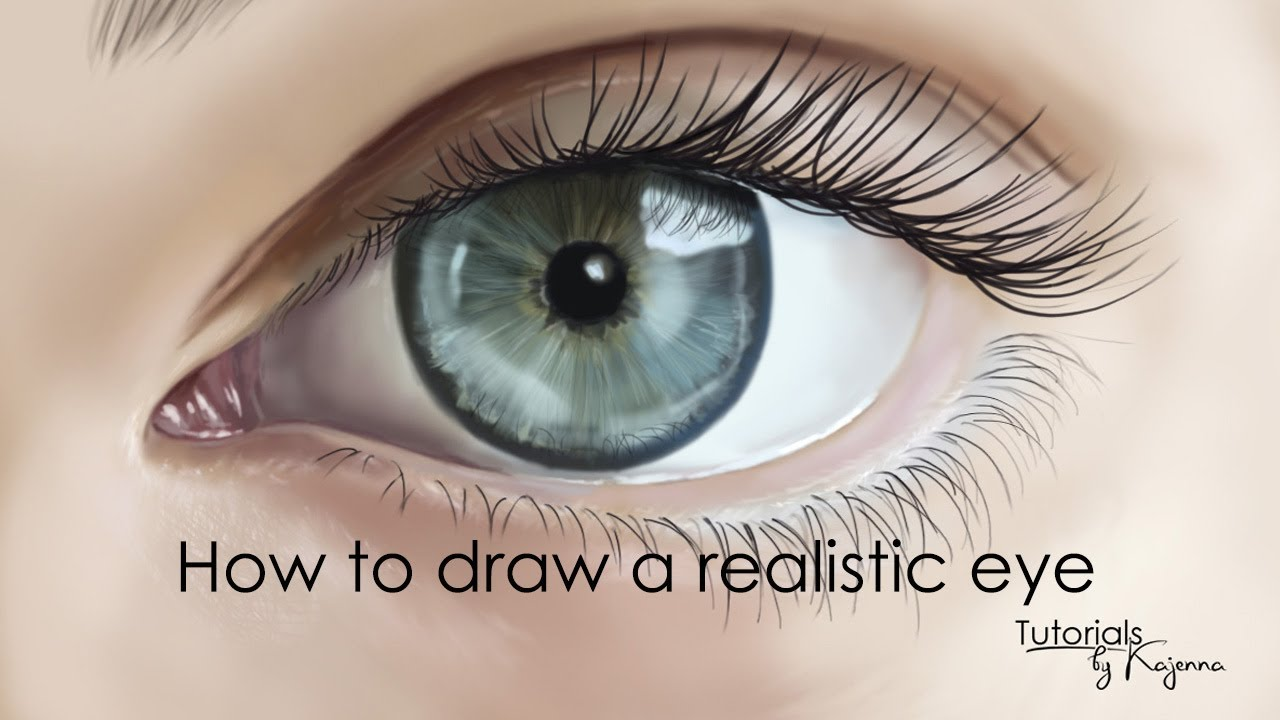 How to draw eyes in photoshop tutorial by kajenna youtube how to draw eyes in photoshop tutorial by kajenna ccuart Gallery