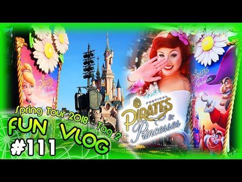 Disney's Pirates & Princesses Festival im Disneyland Paris - Spring Tour 2018 - Tag 2 | FunVlog #111