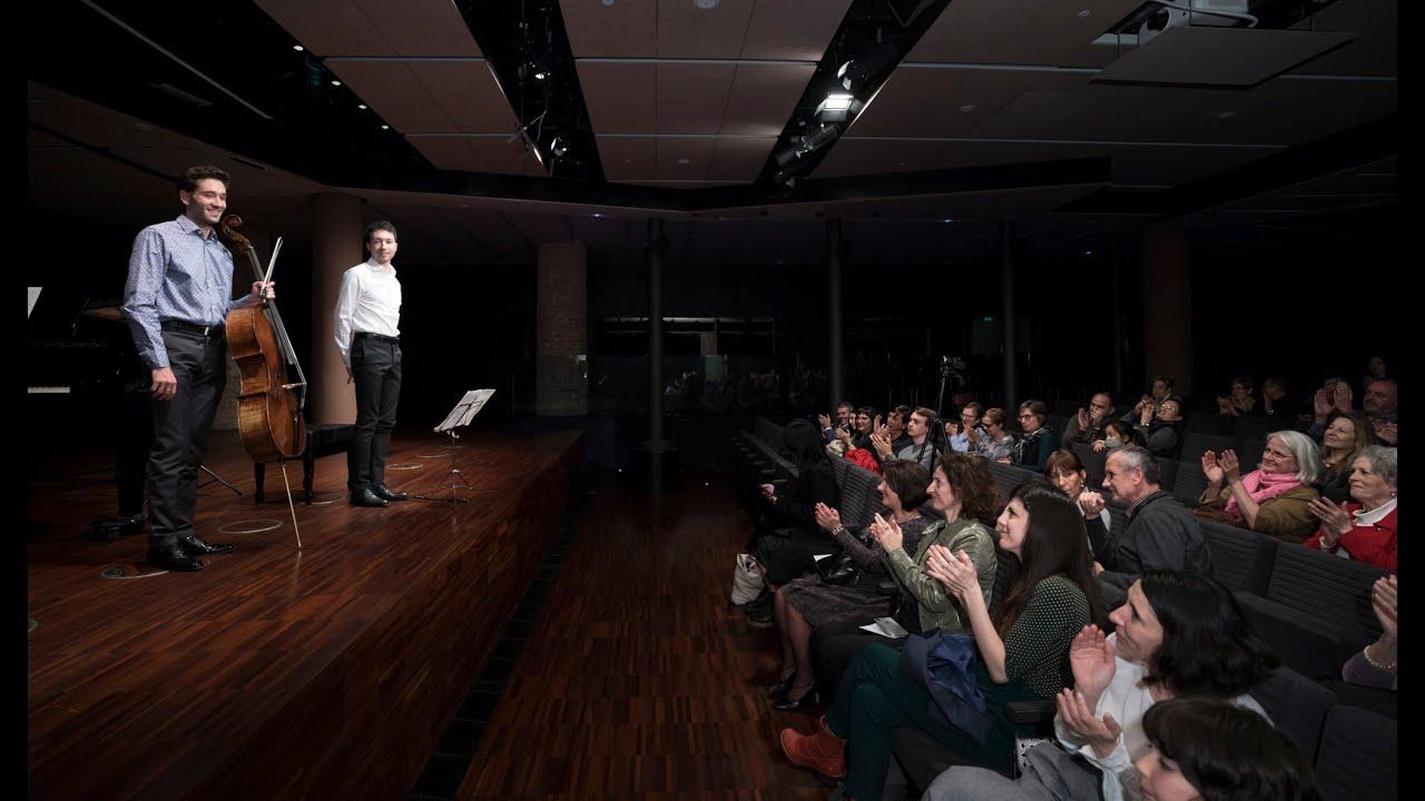 Tchaikovsky: Valse Sentimentale | Roger Morelló & Bernat Català (Live in Casa Milà/La Pedrera)