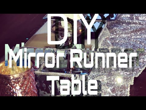 how-to-make-mirror-table-runner-diy-home-decor-ideas/-dollar-tree
