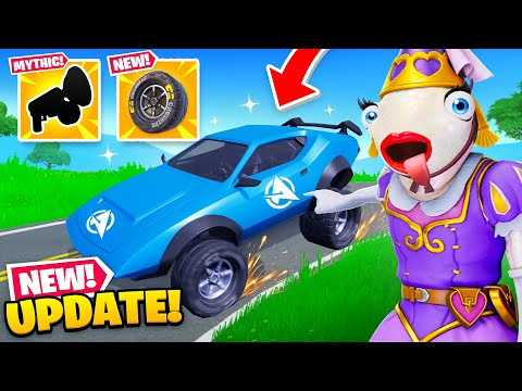 *NEW* MOD UPDATE in Fortnite! (New MYTHIC, Leaked Skins + MORE)