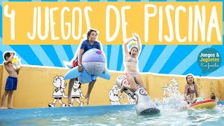 4 JUEGOS DE AGUA PARA NIÑOS + Vlog familiar // Juegos y Juguetes en Familia