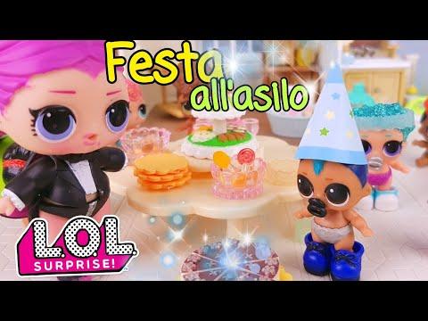 Le Storie delle Lol Surprise 🍰🎁 Festa di compleanno all'ASILO 🥧🎈 E SCHERZETTO a Vlad!
