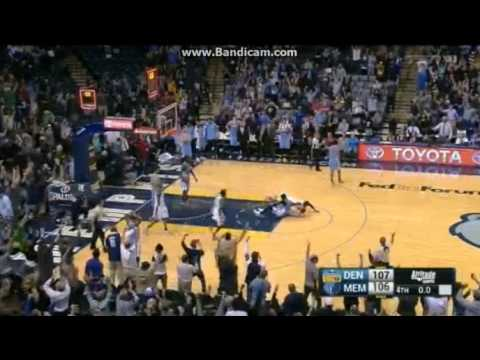 Marc Gasol Game-Winner! - Memphis Grizzlies vs. Denver Nuggets - NBA - 08/11/2016